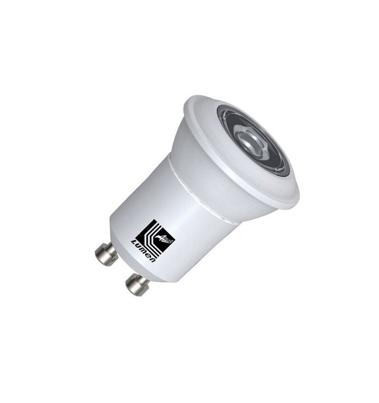 Bec Power LED GU10/MR11 230V, 3W alb cald