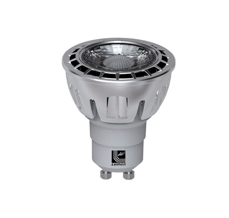 Bec Power LED GU10 230V, 7W alb rece