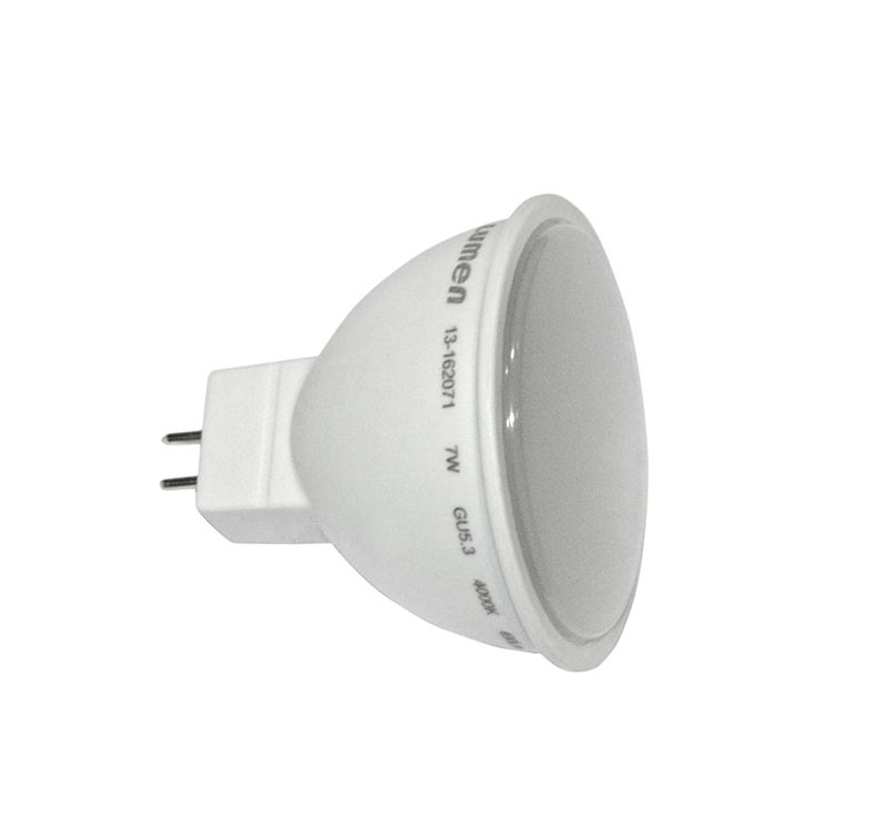 Bec LED GU5.3/MR16 12V, 7W alb