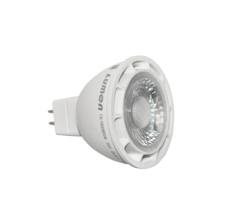 Bec Power LED GU5.3/MR16 12V, 7W alb cald