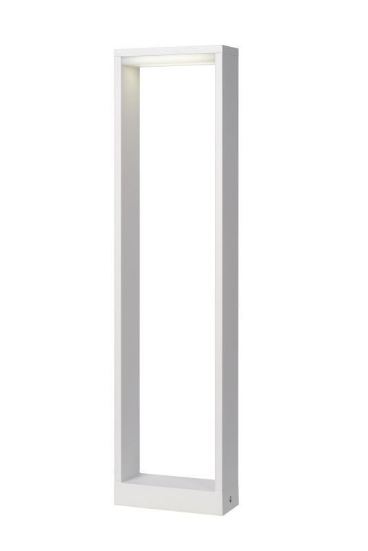 Lucide-GOA white LED,Stalp
