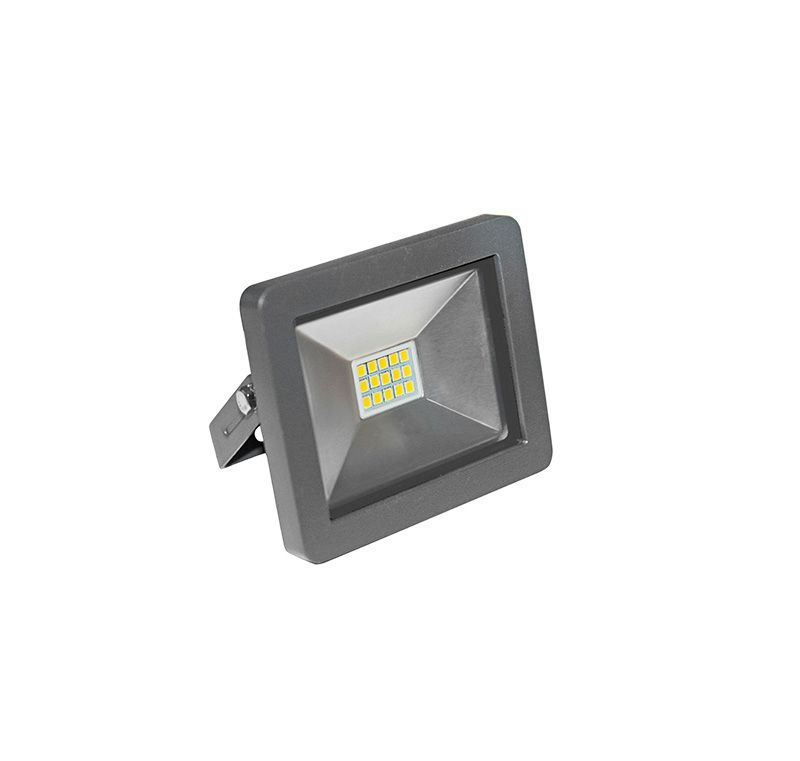 Lumen-Proiector LED SMD  10W alb cald,antracit