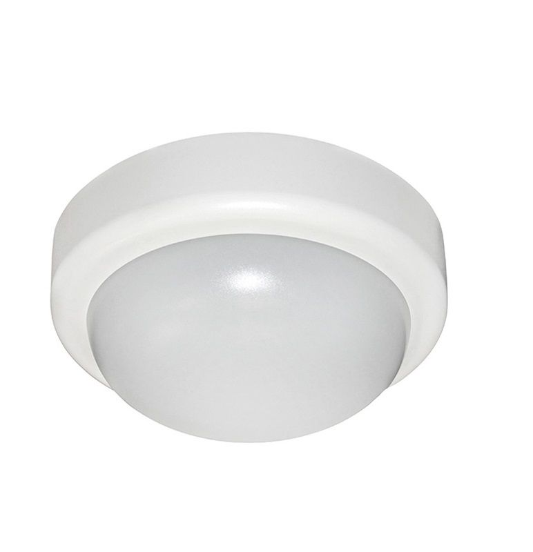 Aplica LED 10W alb neutru, 230V, white, rotunda,IP44