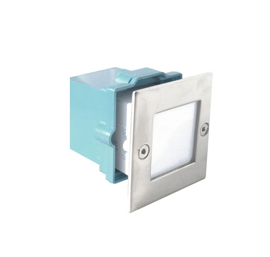 Corp incastrat LED  5,4W/230V,alb cald,IP54