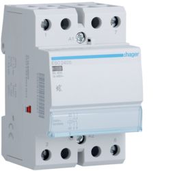 Hager- Contactor 2P, 40A, 230V, 2ND, Silentios