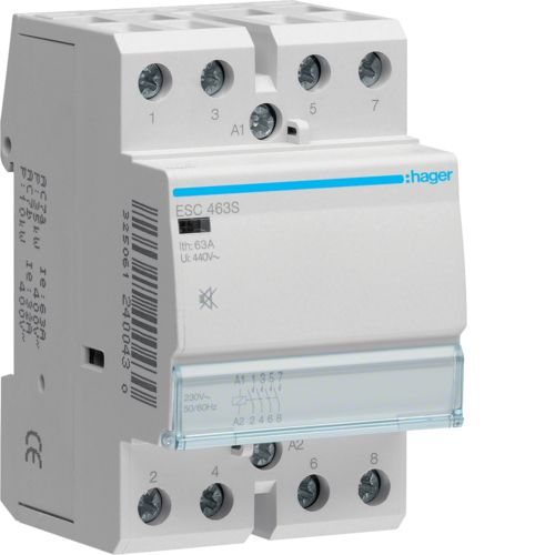 Contactor 63A/230V,4ND,CM,S