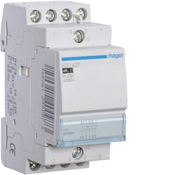 Hager-Contactor 25A/ 24V,2ND+2NI,CM