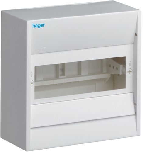 Hager GD, Tablou electric  8 module aparent