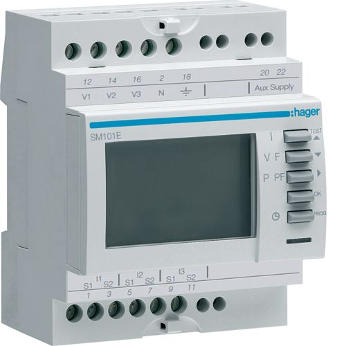 Hager-Multimetru digital SM101E